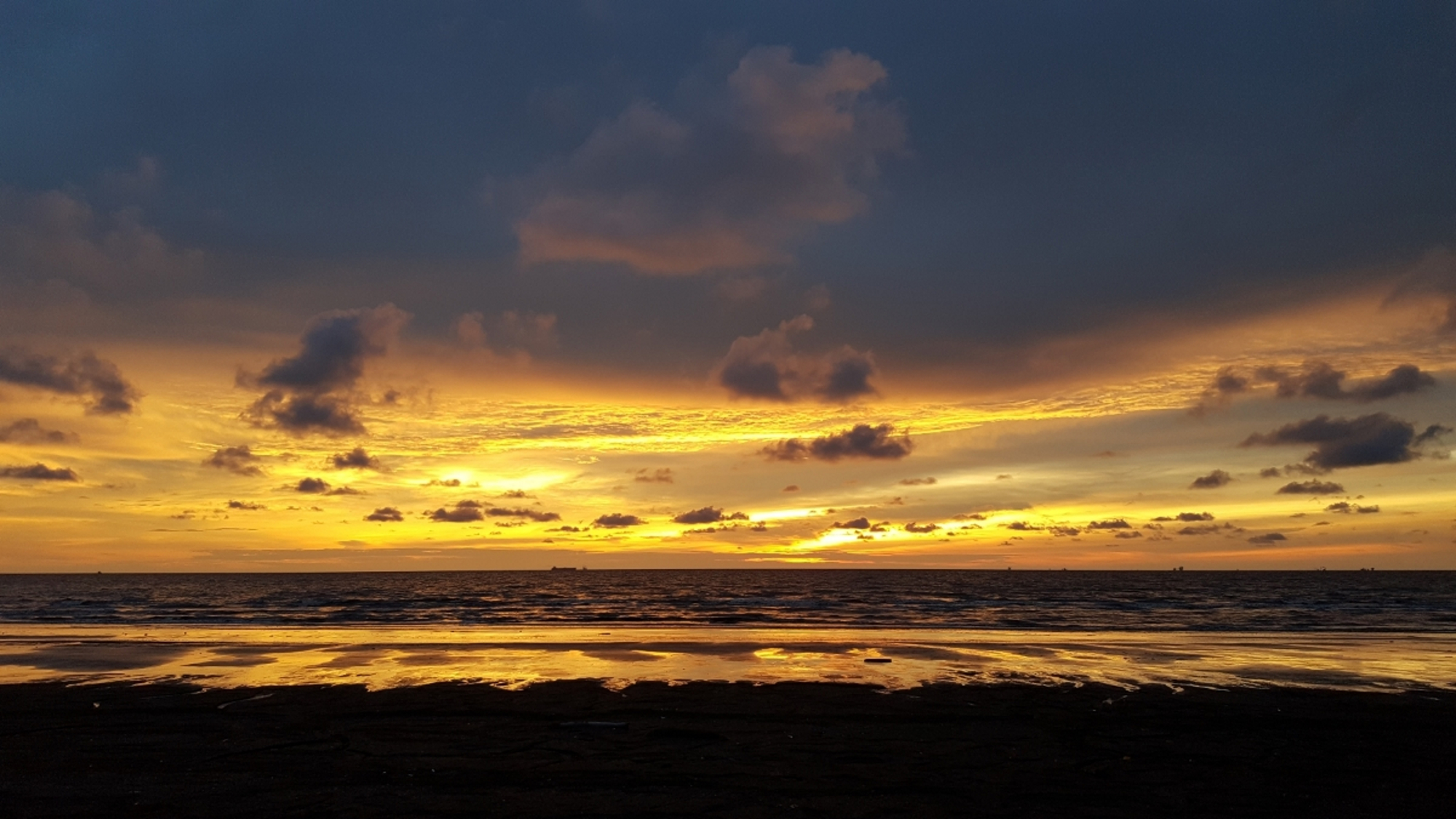 Sunset In Miri